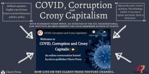 COVID Corruption & Crony Capitalism PosterTweaked